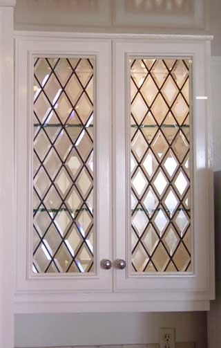 Classic Stained Glass Cabinet Doors Decoration